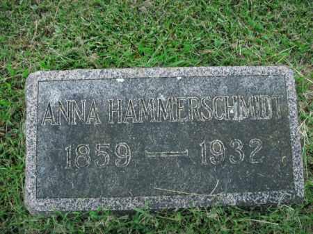 HAMMERSCHMIDT, ANNA MARIA - Boone County, Arkansas   ANNA MARIA HAMMERSCHMIDT - Arkansas Gravestone Photos