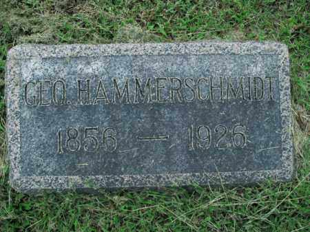HAMMERSCHMIDT, GEORGE - Boone County, Arkansas | GEORGE HAMMERSCHMIDT - Arkansas Gravestone Photos