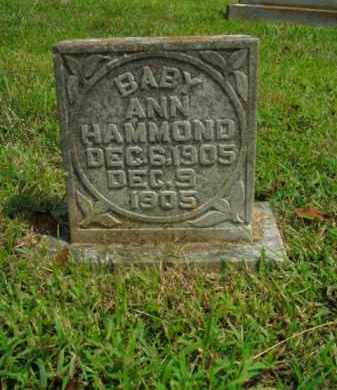 HAMMOND, ANN - Boone County, Arkansas | ANN HAMMOND - Arkansas Gravestone Photos