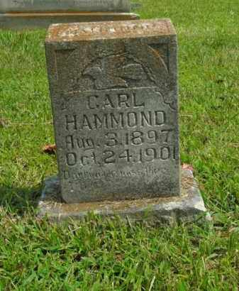 HAMMOND, CARL - Boone County, Arkansas | CARL HAMMOND - Arkansas Gravestone Photos