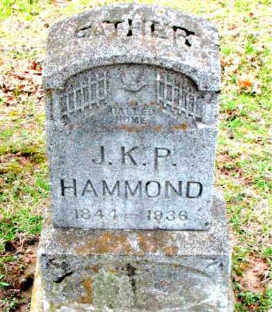 HAMMOND, J. K. P. - Boone County, Arkansas | J. K. P. HAMMOND - Arkansas Gravestone Photos