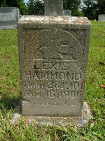 HAMMOND, LEXIE - Boone County, Arkansas   LEXIE HAMMOND - Arkansas Gravestone Photos