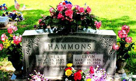 HAMMONS, ERVIN - Boone County, Arkansas | ERVIN HAMMONS - Arkansas Gravestone Photos