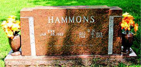 HAMMONS, D. NATHAN - Boone County, Arkansas | D. NATHAN HAMMONS - Arkansas Gravestone Photos