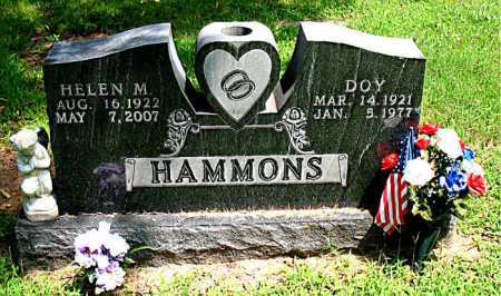 HAMMONS, HELEN M. - Boone County, Arkansas | HELEN M. HAMMONS - Arkansas Gravestone Photos