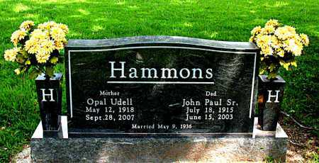 HAMMONS, SR, JOHN PAUL - Boone County, Arkansas | JOHN PAUL HAMMONS, SR - Arkansas Gravestone Photos