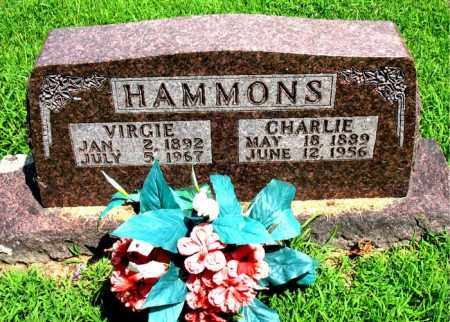 HAMMONS, CHARLIE - Boone County, Arkansas | CHARLIE HAMMONS - Arkansas Gravestone Photos