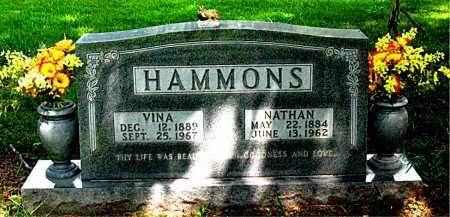 HAMMONS, VINA - Boone County, Arkansas | VINA HAMMONS - Arkansas Gravestone Photos