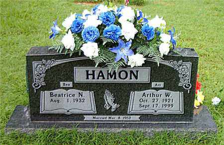 HAMON, ARTHUR  W. - Boone County, Arkansas | ARTHUR  W. HAMON - Arkansas Gravestone Photos