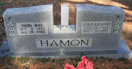 HAMON, LLOYD RAYMOND - Boone County, Arkansas | LLOYD RAYMOND HAMON - Arkansas Gravestone Photos