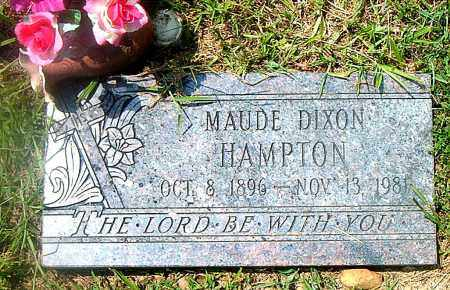 DIXON HAMPTON, MAUDE - Boone County, Arkansas | MAUDE DIXON HAMPTON - Arkansas Gravestone Photos