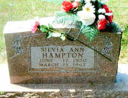 HAMPTON, SILVIA ANN - Boone County, Arkansas | SILVIA ANN HAMPTON - Arkansas Gravestone Photos