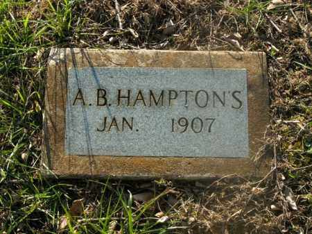 HAMPTONS, A.B. - Boone County, Arkansas | A.B. HAMPTONS - Arkansas Gravestone Photos