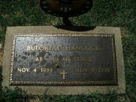 HANCOCK  (VETERAN), BUFORD D. - Boone County, Arkansas | BUFORD D. HANCOCK  (VETERAN) - Arkansas Gravestone Photos