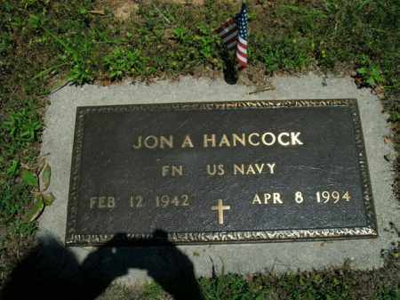HANCOCK  (VETERAN), JON A. - Boone County, Arkansas | JON A. HANCOCK  (VETERAN) - Arkansas Gravestone Photos
