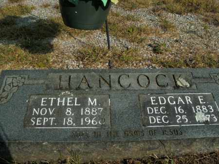 HANCOCK, EDGAR E. - Boone County, Arkansas | EDGAR E. HANCOCK - Arkansas Gravestone Photos