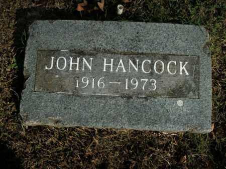 HANCOCK, JOHN - Boone County, Arkansas | JOHN HANCOCK - Arkansas Gravestone Photos