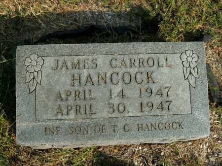 HANCOCK, JAMES CARROLL - Boone County, Arkansas | JAMES CARROLL HANCOCK - Arkansas Gravestone Photos