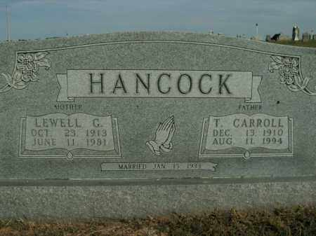 HANCOCK, LEWELL G. - Boone County, Arkansas | LEWELL G. HANCOCK - Arkansas Gravestone Photos