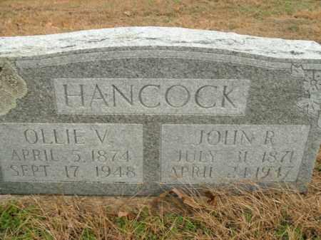 HANCOCK, OLLIE V. - Boone County, Arkansas | OLLIE V. HANCOCK - Arkansas Gravestone Photos