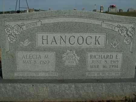 HANCOCK, RICHARD E. - Boone County, Arkansas | RICHARD E. HANCOCK - Arkansas Gravestone Photos