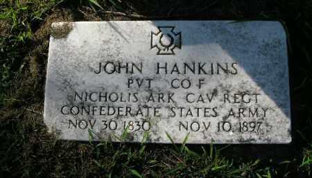 HANKINS  (VETERAN CSA), JOHN - Boone County, Arkansas | JOHN HANKINS  (VETERAN CSA) - Arkansas Gravestone Photos