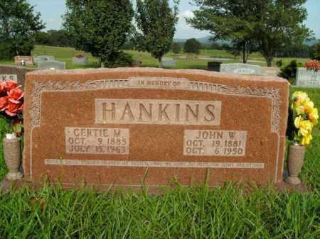 HANKINS, GERTIE M. - Boone County, Arkansas | GERTIE M. HANKINS - Arkansas Gravestone Photos