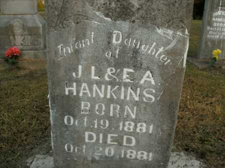 HANKINS, INFANT DAUGHTER - Boone County, Arkansas | INFANT DAUGHTER HANKINS - Arkansas Gravestone Photos
