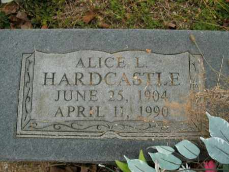 HARDCASTLE, ALICE L. - Boone County, Arkansas | ALICE L. HARDCASTLE - Arkansas Gravestone Photos