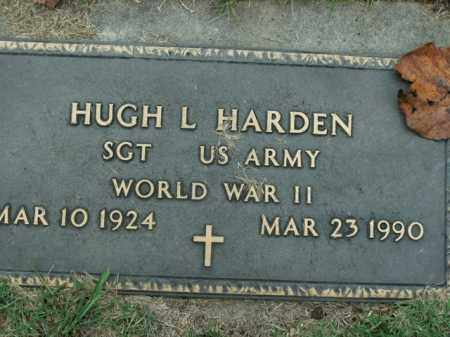 HARDEN  (VETERAN WWII), HUGH L - Boone County, Arkansas | HUGH L HARDEN  (VETERAN WWII) - Arkansas Gravestone Photos