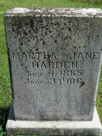 HARDEN, MARTHA JANE - Boone County, Arkansas | MARTHA JANE HARDEN - Arkansas Gravestone Photos