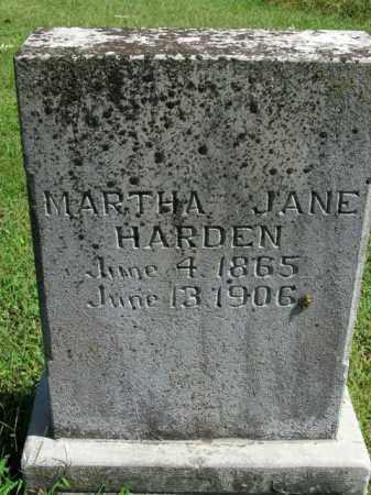 HARDEN, MARTHA JANE - Boone County, Arkansas | MARTHA JANE HARDEN - Arkansas Gravestone Photos