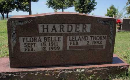 HARDER, FLORA BELLE - Boone County, Arkansas | FLORA BELLE HARDER - Arkansas Gravestone Photos