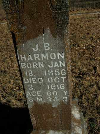 HARMON, J.B. - Boone County, Arkansas | J.B. HARMON - Arkansas Gravestone Photos