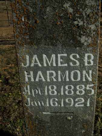 HARMON, JAMES B. - Boone County, Arkansas | JAMES B. HARMON - Arkansas Gravestone Photos