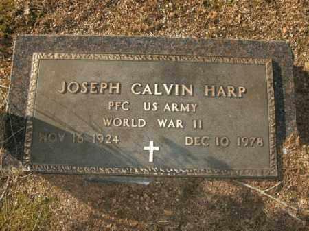 HARP  (VETERAN WWII), JOSEPH CALVIN - Boone County, Arkansas | JOSEPH CALVIN HARP  (VETERAN WWII) - Arkansas Gravestone Photos