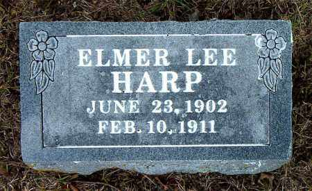 HARP, ELMER LEE - Boone County, Arkansas | ELMER LEE HARP - Arkansas Gravestone Photos