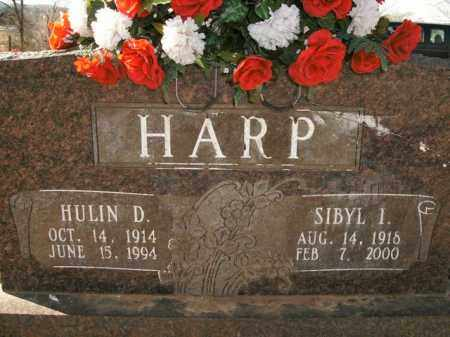HARP, HULIN D. - Boone County, Arkansas | HULIN D. HARP - Arkansas Gravestone Photos