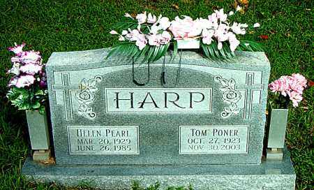 HARP, TOM PONER - Boone County, Arkansas | TOM PONER HARP - Arkansas Gravestone Photos
