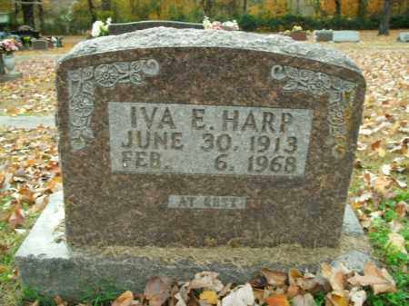 HARP, IVA E. - Boone County, Arkansas | IVA E. HARP - Arkansas Gravestone Photos