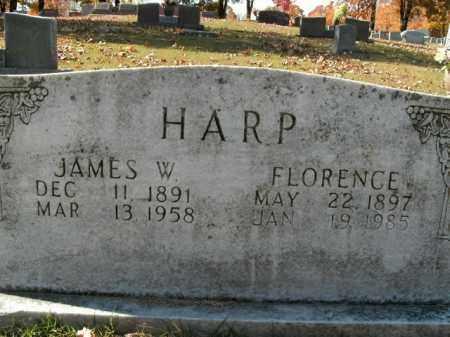 HARP, FLORENCE - Boone County, Arkansas   FLORENCE HARP - Arkansas Gravestone Photos