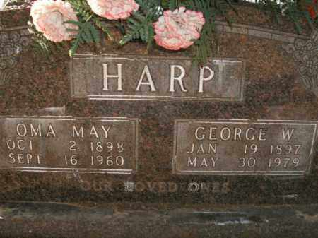 HARP, OMA MAY - Boone County, Arkansas | OMA MAY HARP - Arkansas Gravestone Photos