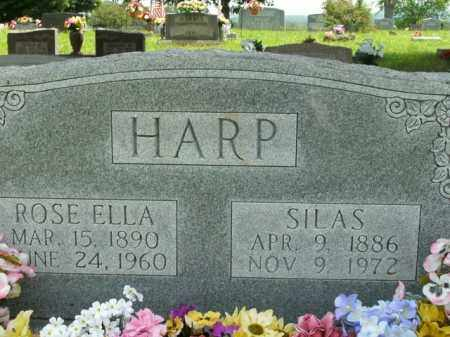 HARP, ROSE ELLA - Boone County, Arkansas | ROSE ELLA HARP - Arkansas Gravestone Photos