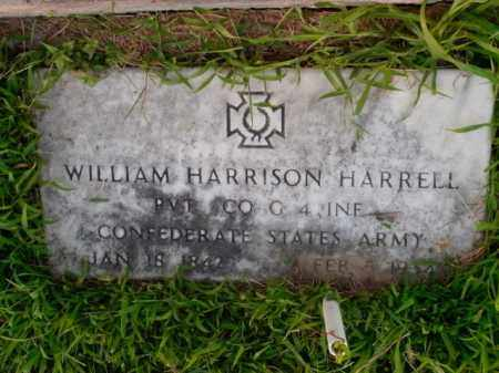 HARRELL  (VETERAN CSA), WILLIAM HARRISON - Boone County, Arkansas | WILLIAM HARRISON HARRELL  (VETERAN CSA) - Arkansas Gravestone Photos