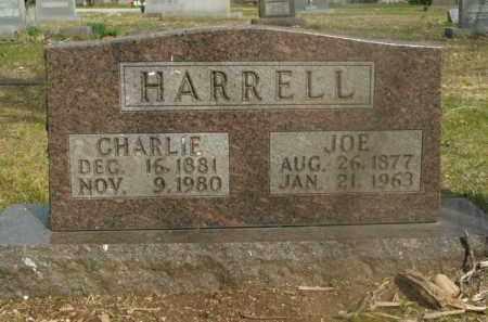 HARRELL, CHARLIE - Boone County, Arkansas | CHARLIE HARRELL - Arkansas Gravestone Photos