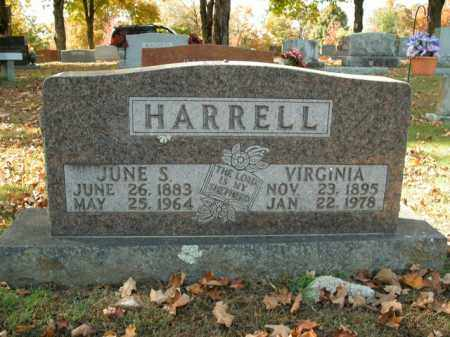 HARRELL, JUNE S. - Boone County, Arkansas | JUNE S. HARRELL - Arkansas Gravestone Photos