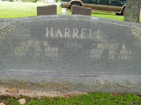 HARRELL, HENRY BURN - Boone County, Arkansas | HENRY BURN HARRELL - Arkansas Gravestone Photos
