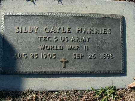 HARRIES  (VETERAN WWII), SILBY GAYLE - Boone County, Arkansas | SILBY GAYLE HARRIES  (VETERAN WWII) - Arkansas Gravestone Photos