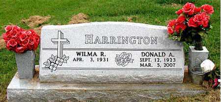 HARRINGTON, DONALD A. - Boone County, Arkansas | DONALD A. HARRINGTON - Arkansas Gravestone Photos