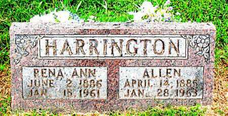 HARRINGTON, ALLEN - Boone County, Arkansas | ALLEN HARRINGTON - Arkansas Gravestone Photos